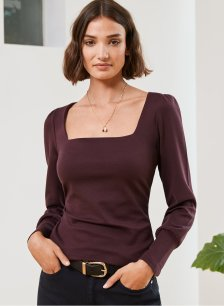 Shop Merell Top Darkest Fig and more