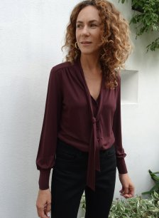 Shop Eleanor Ecovero™ Blouse Redwood and more