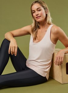 Shop The Active Modal Top Rose and more
