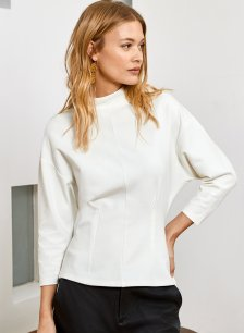 Shop Marianne Top Soft White and more