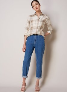 Shop The Relaxed Jean Washed Blue and more