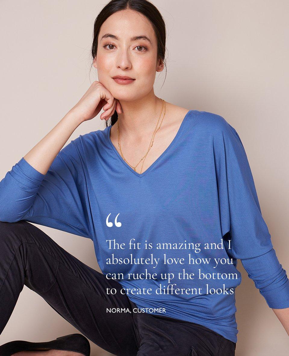 Shop Ella Top Dutch Blue, Myra Cargo Pant Caviar Black and more