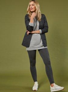 Shop Aerith Leggings Dark Grey Marl and more