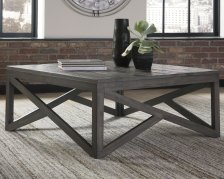 Shop Haroflyn Coffee Table, Gray and more
