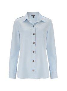 Shop Lindon Safari Shirt Light Blue and more