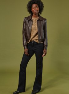 Shop Frankie Recycled Jean Caviar Black and more