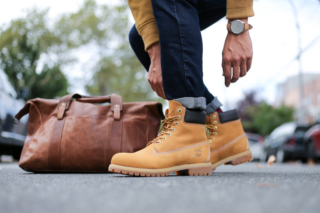 chico ponerse nervioso Colega  Timberland | How to Dress for Fall & Not Look Like a Lumberjack