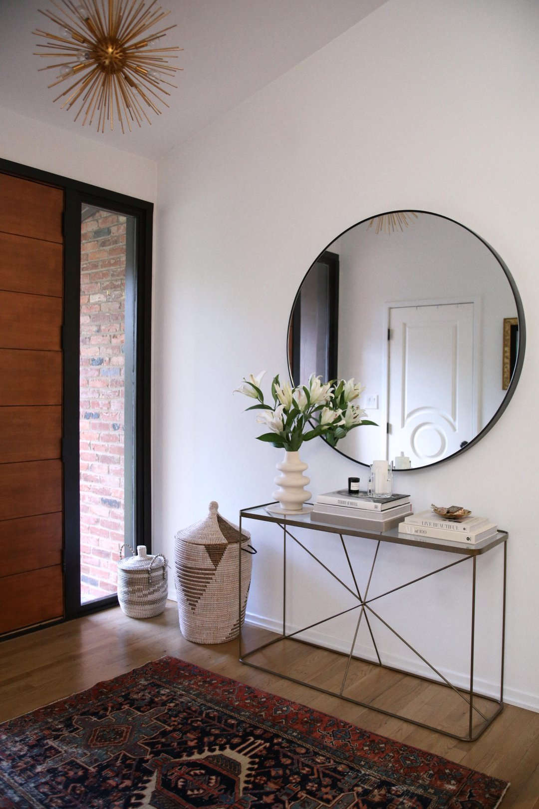 Use Round Mirrors To Complete Any Room In Your Home Kathy Kuo Blog Kathy Kuo Home