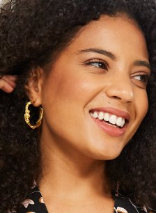 Shop Sicily Earrings Gold and more