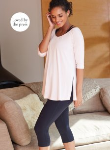 Shop Isabella Oliver The Maternity Yoga Top and more