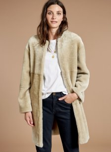 Shop Shearling Coat and more
