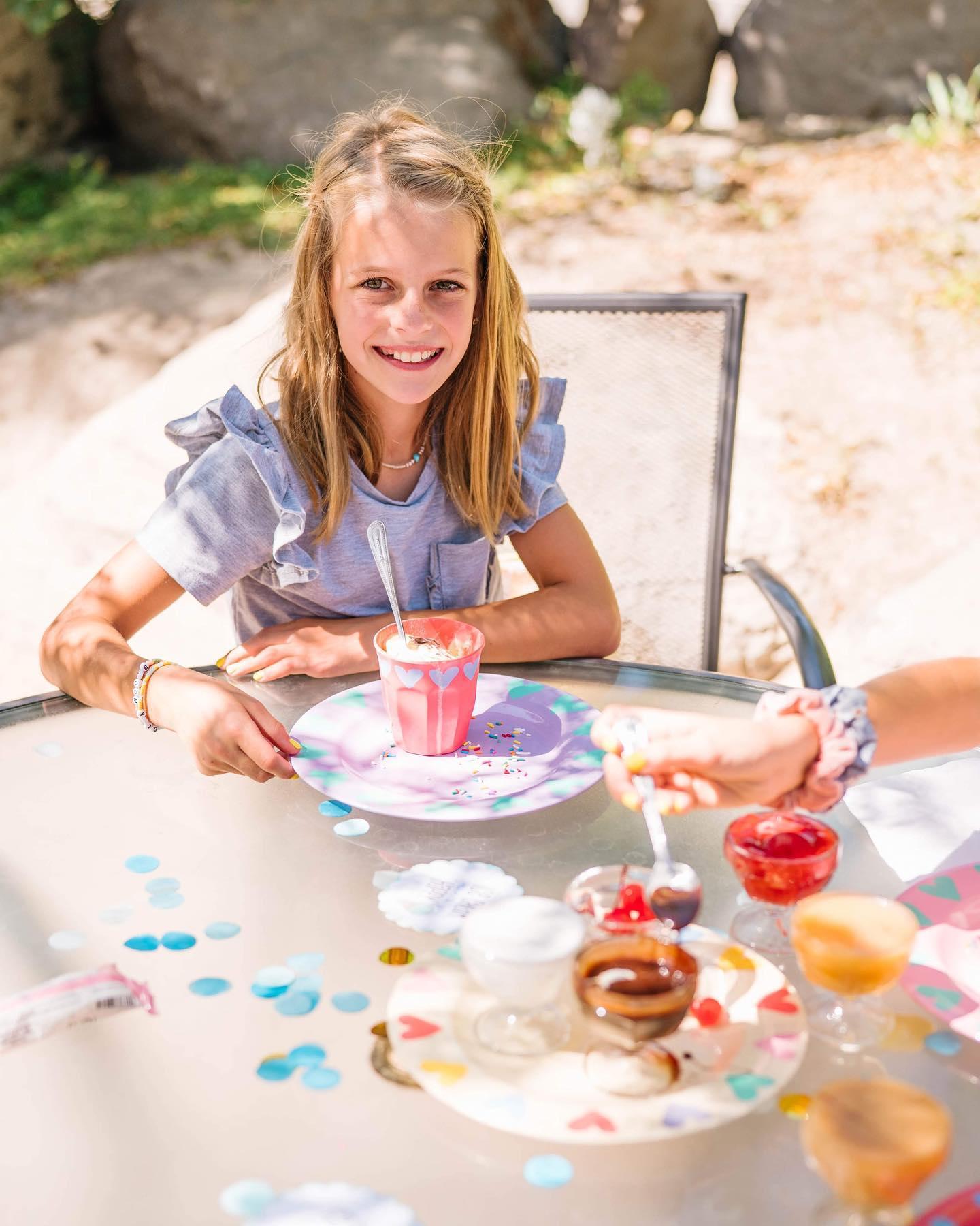 Kids' outdoor ice cream bar Instagram Post