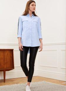 Shop Lauren Leather Leggings Caviar Black and more
