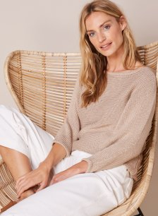 Shop Ruth Jumper Almond and more