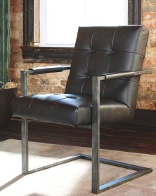 Shop Starmore Home Office Desk Chair, Brown Leather and more