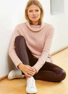 Shop Erica Roll Neck Light Blush and more