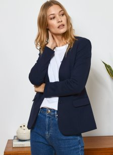 Shop Avery Blazer Classic Navy and more