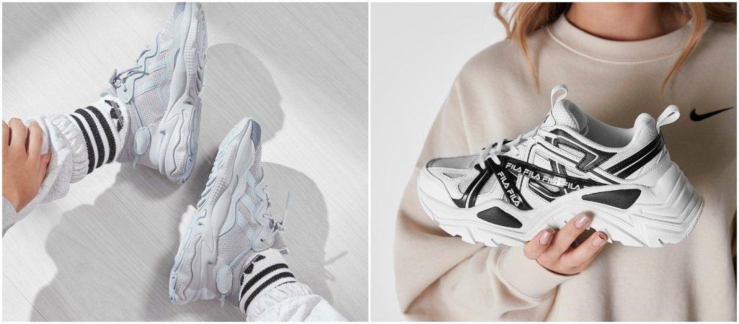sneakertrendit 2021, chunky sneakerit