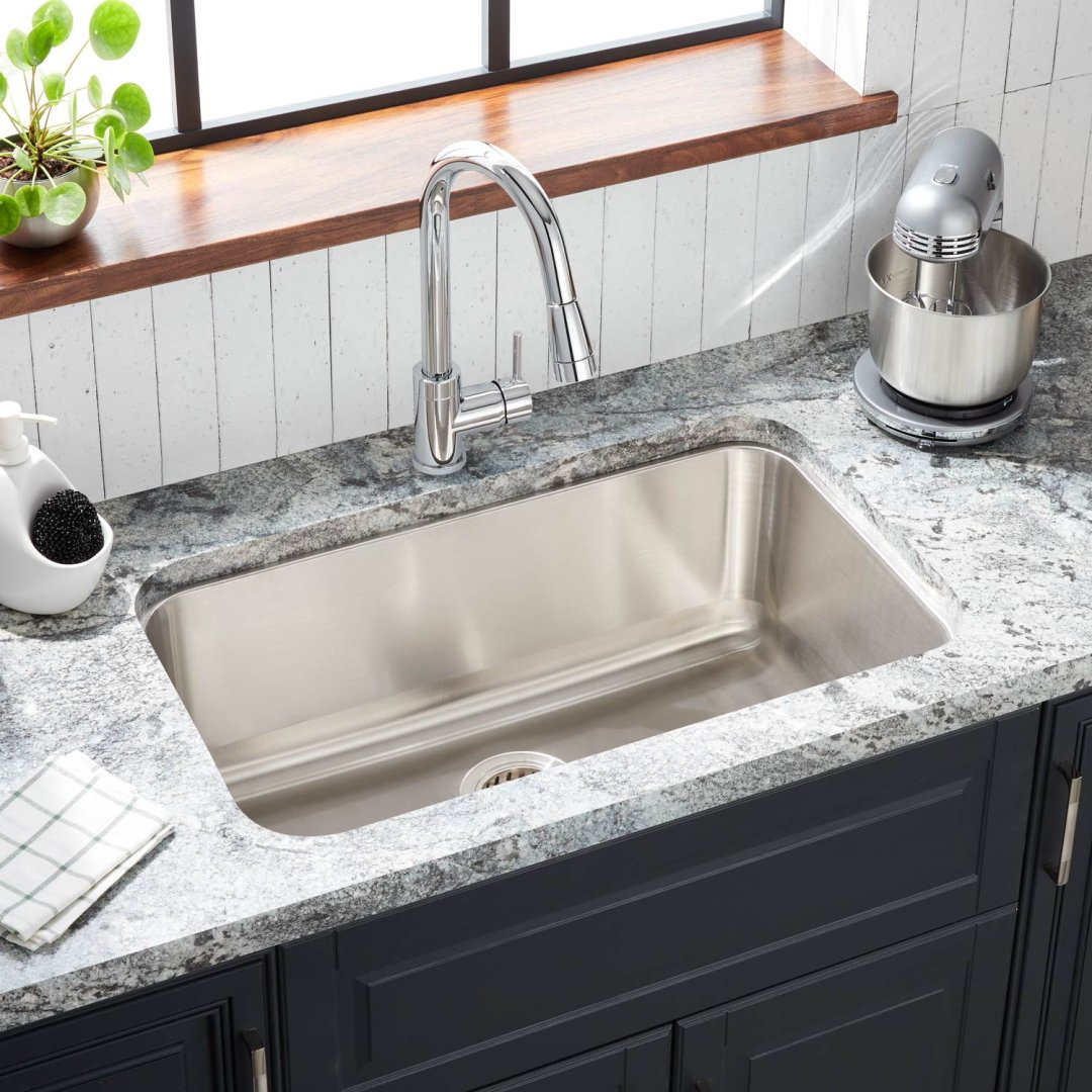 30 Calverton Stainless Steel Undermount Kitchen Sink Kitchen
