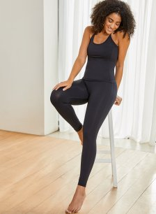 Shop The Active Leggings Caviar Black and more