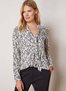 Shop Lexie Blouse Stone Dash Print and more