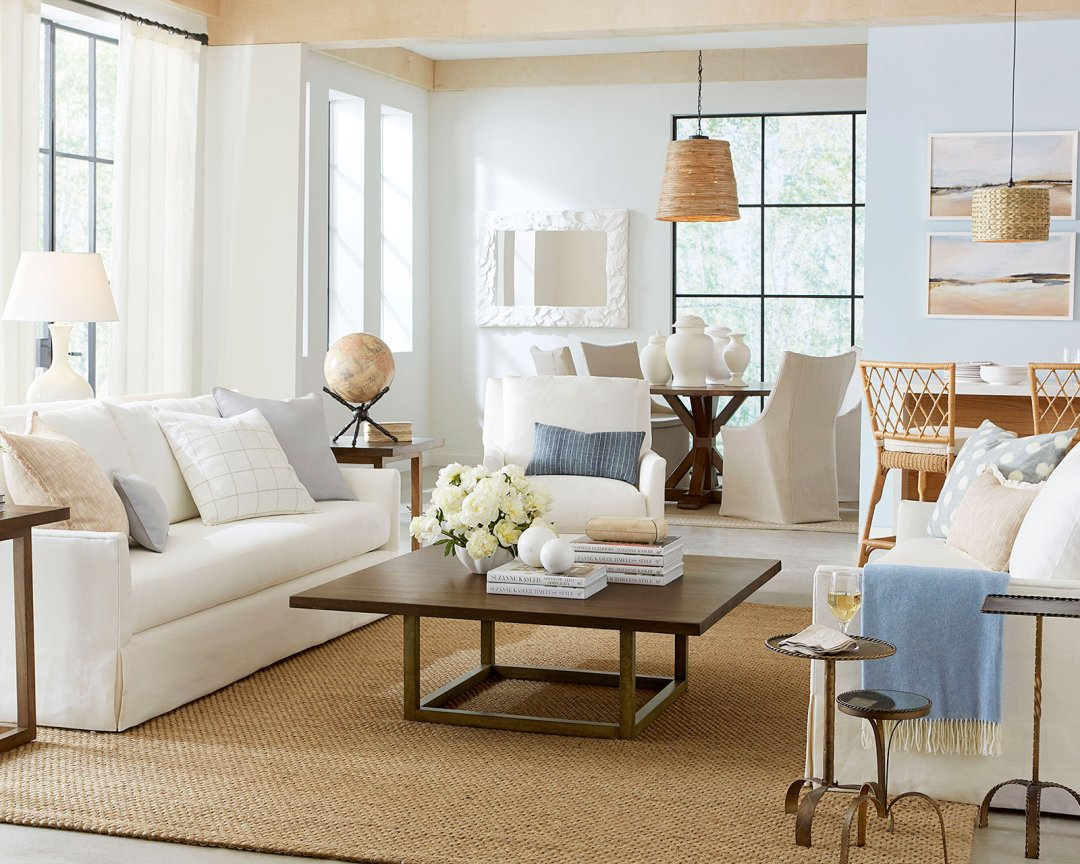 Neutral Living Room How to Add Color to Your Space