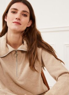 Shop Livia Wool & Organic Cotton Jumper and more