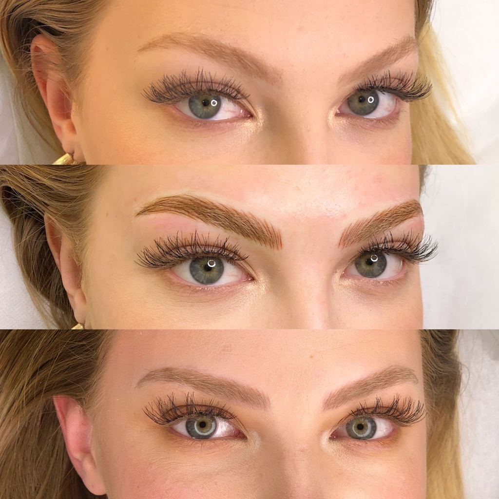 Microblading Healing Process Pictures