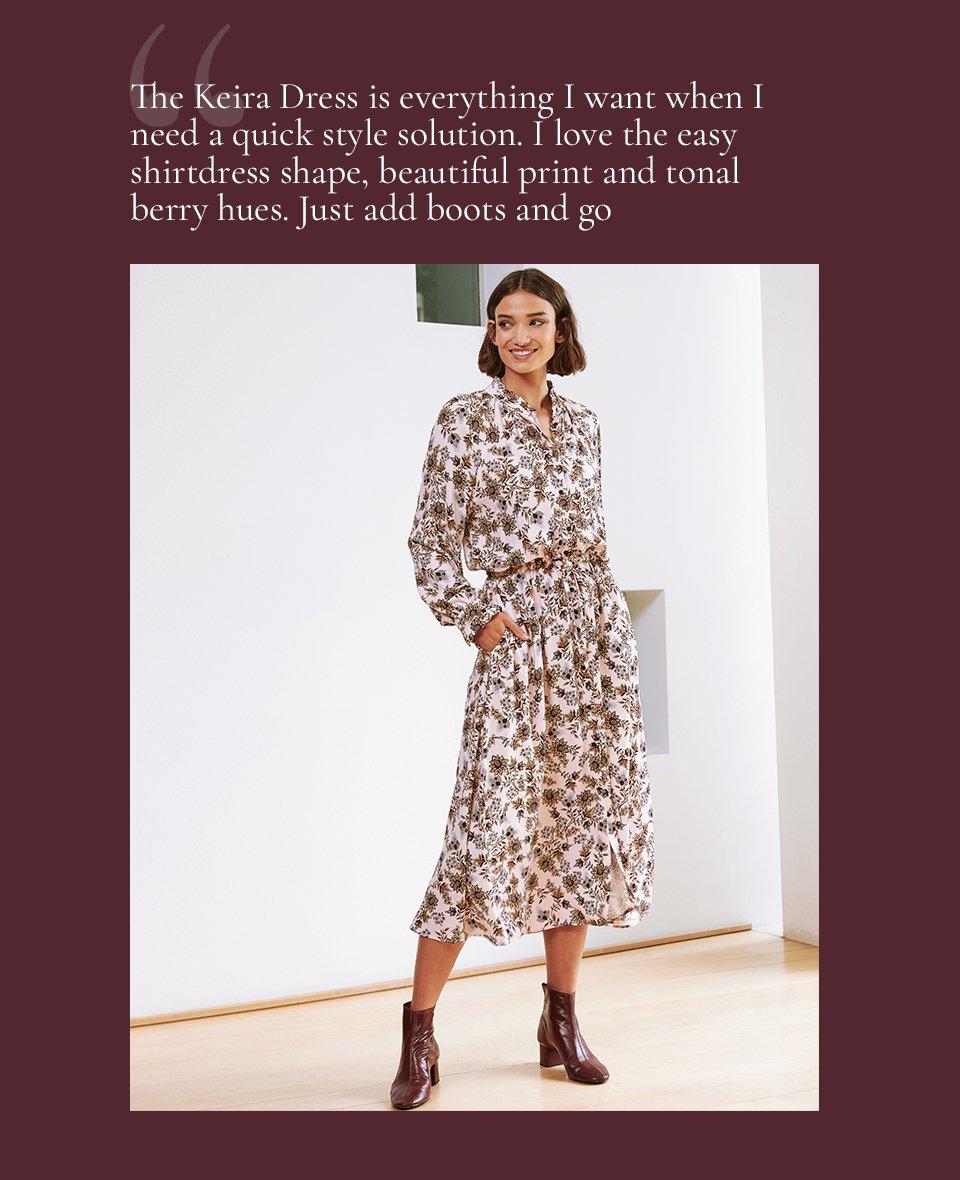 Shop Keira Dress Pink Saraca Floral and more