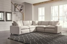 Shop Savesto 5-Piece Sectional, Ivory and more