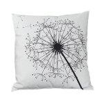 Stripe Lattice Feather Print Sofa Throw Pillow Cover 17377463-200