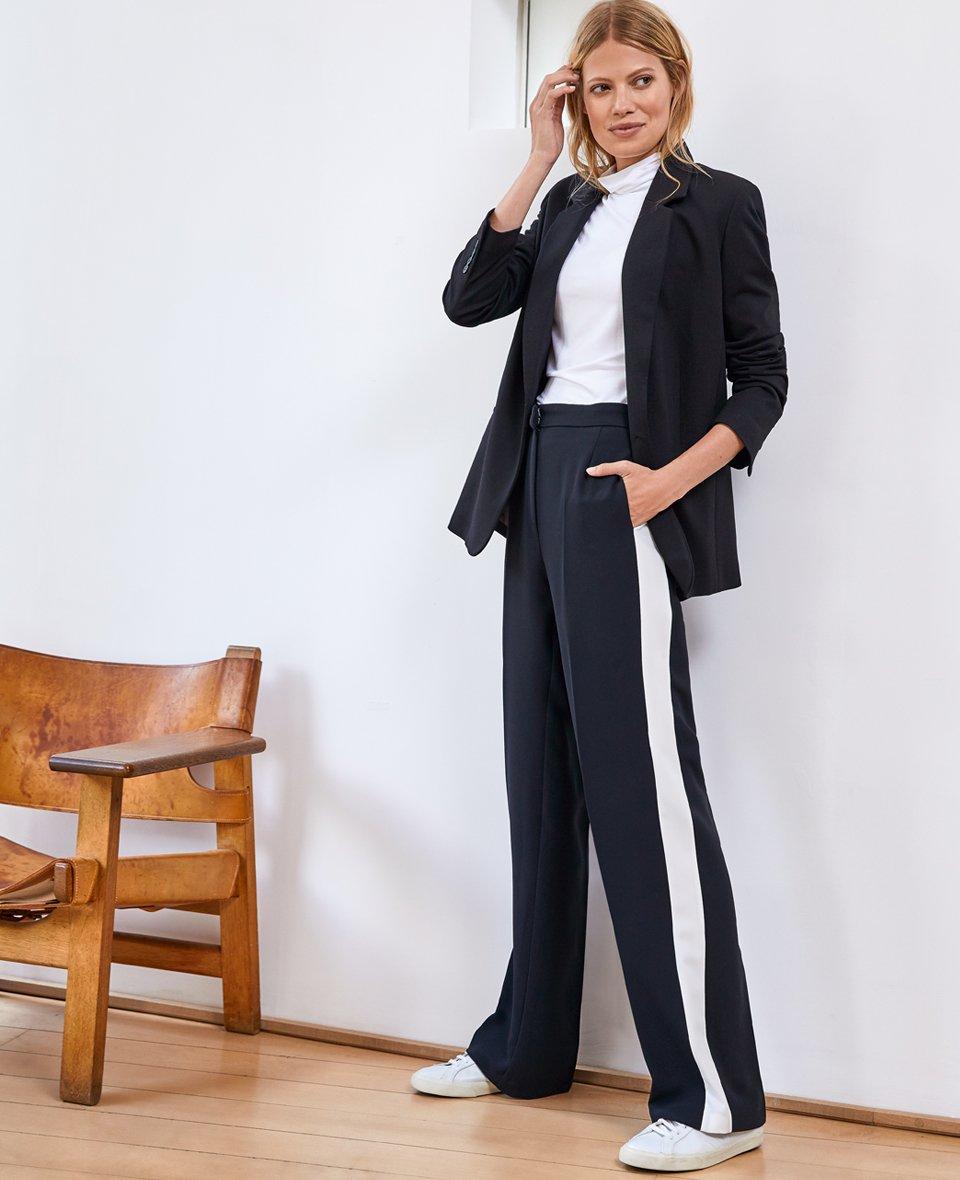 Shop Natasha Jacket Caviar Black, Baukjen Turtleneck Soft White and more