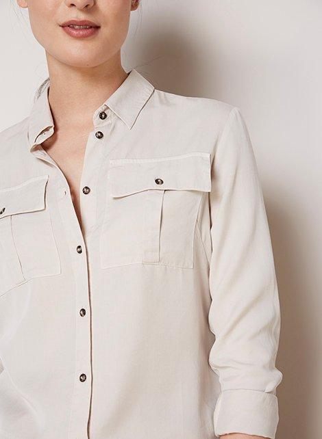 Shop Ellen Safari Shirt and more