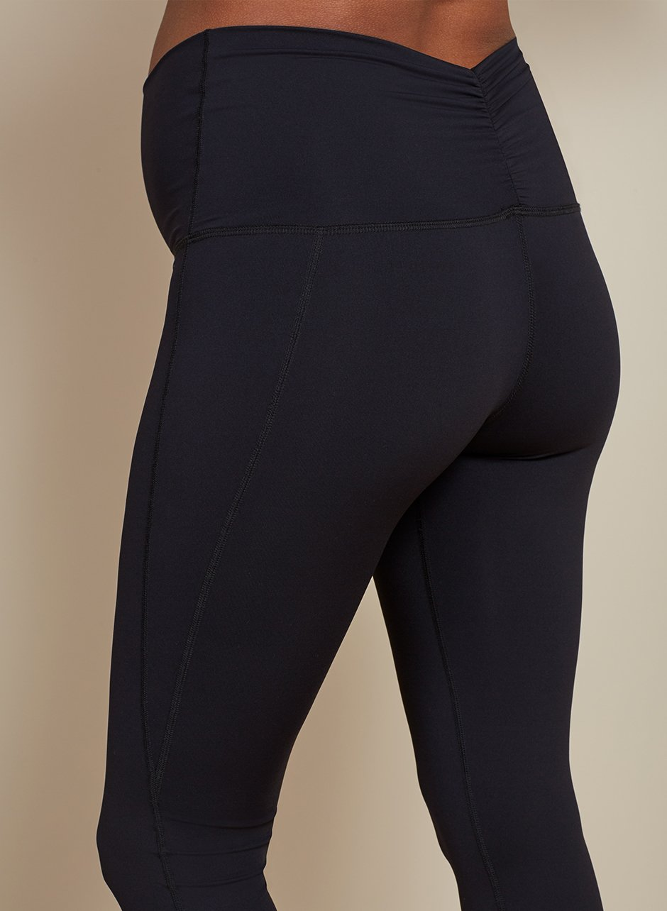Shop Isabella Oliver Maternity Active Leggings-Caviar Black and more
