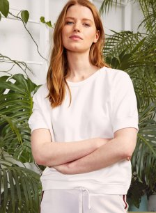 Shop Lara Organic Top Pure White and more