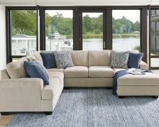 Shop Enola 4-Piece Sectional with Chaise, Sepia and more