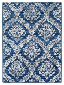 "Shop Home Accents Harput 5' 3"" x 7' 3"" Area Rug, Dark Blue and more"