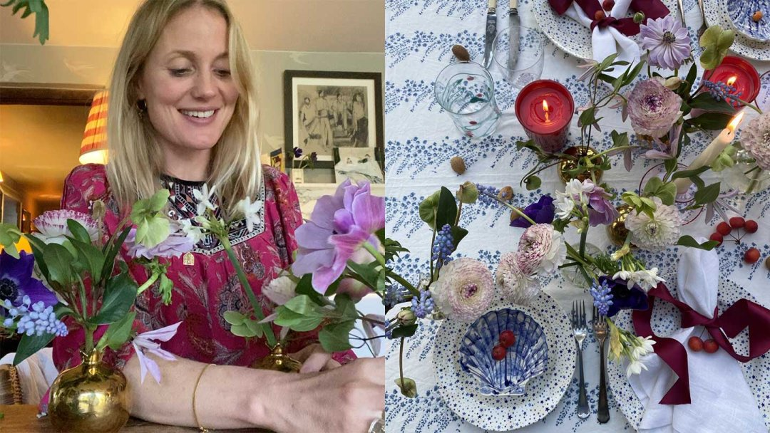 Create Your Festive Table: Floral Centrepiece with Willow Crossley