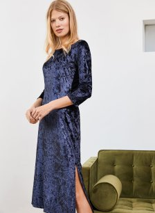 Shop Verity Dress French Navy and more