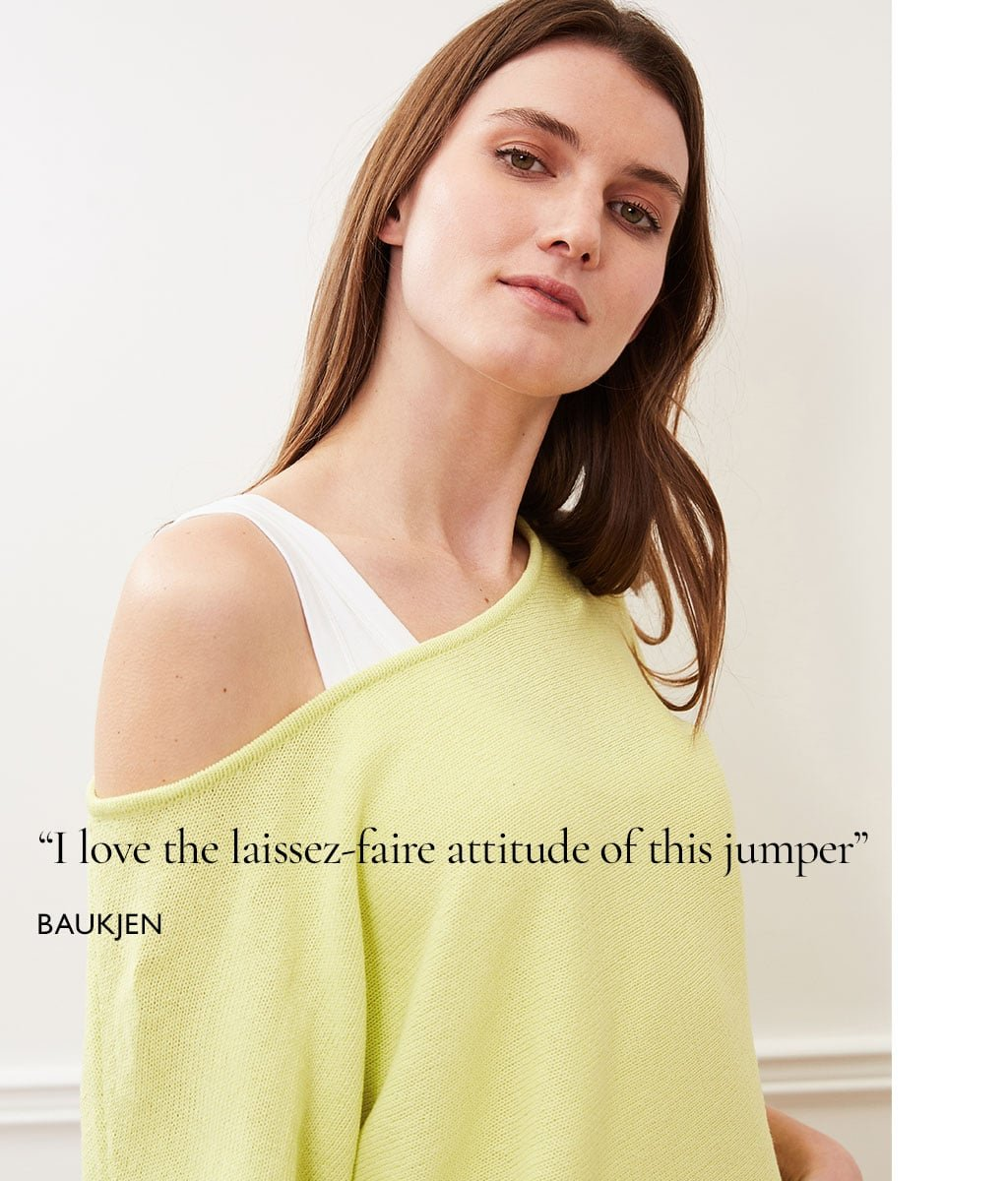 Shop Eddi Recycled Cotton Jumper, Elin Tank with LENZING™ ECOVERO™ and more