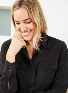 Shop Alessandra Tencel™ Shirt and more