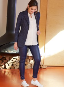 Shop Isabella Oliver Rowsley Leather Leggings and more