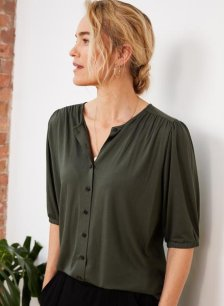 Shop Orana Blouse with LENZING™ ECOVERO™ and more