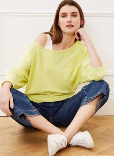 Shop Eddi Recycled Cotton Jumper and more