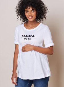Shop Isabella Oliver Blake Maternity Tee-Pure White and more