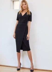 Shop Celeste Dress Caviar Black and more