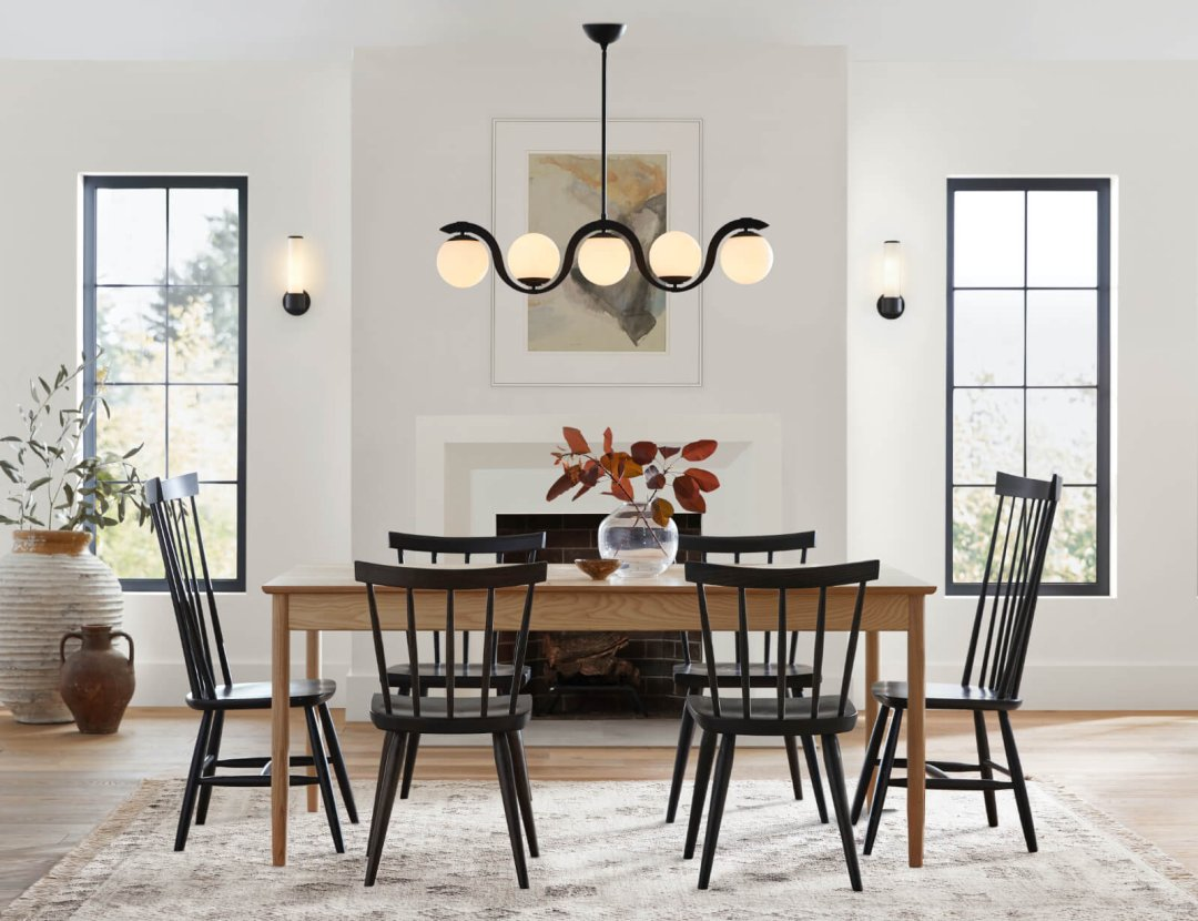 How To Choose Dining Room Lighting, Wood Chandelier Dining Room