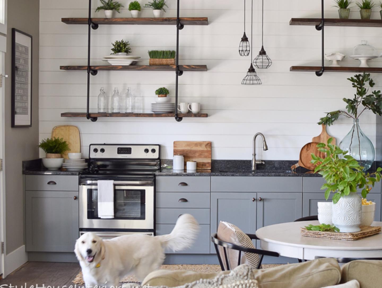 Modern farmhouse kitchen Instagram Post
