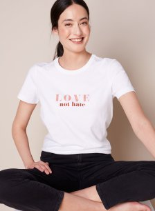 Shop Hannah Tee Pure White and more