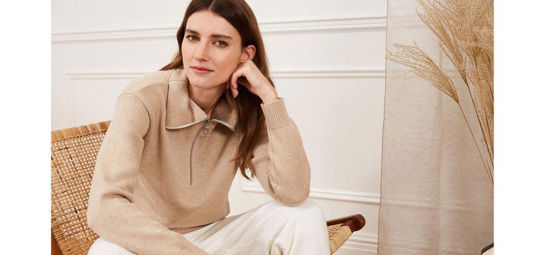 Shop Livia Wool & Organic Cotton Jumper, Brooklyn Organic Jogger and more